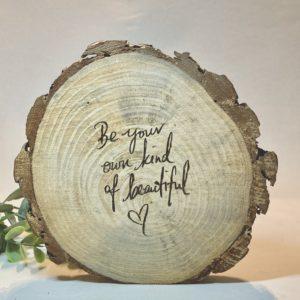 boomschijf klein BEAUTIFUL