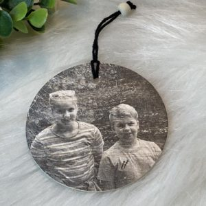 hanger met gepersonaliseerde foto